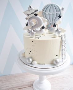 Cute Birthday Cakes, Cake Decorating Videos, Baby Boy Cakes, Classic Cake, Cookie Icing, Dessert Decoration, Sweets Cake, Mousse Cake, Cake Pops