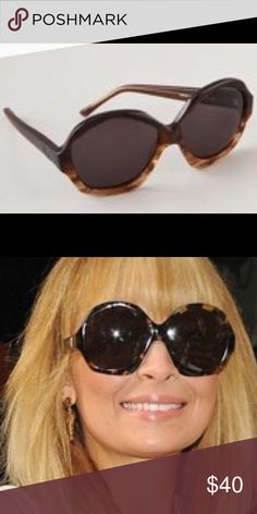 House of Harlow 1960 Anais Sunglasses in Coffee Turn heads effortlessly in a pair of Nicole Richie's House of Harlow 1960 Anais Sunglasses in Coffee. Nicole collaborated with Pascal Mouawad, a world renowned jeweler, to launch the House of Harlow 1960 line of accessories. Named after Nicole's daughter, the collection captivates 1960's and 70's vintage glamour. House of Harlow 1960 Accessories Sunglasses