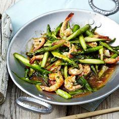Garnelen-Spargel-Pfanne Garnelen-Spargel-Pfanne The post Garnelen-Spargel-Pfanne & Rezepte appeared first on Shrimp recipes . Shrimp And Asparagus, Asparagus Recipe, Pan Asparagus, Shrimp Pasta, Asian Recipes, Healthy Recipes, Ethnic Recipes, Drink Recipes, Clean Eating