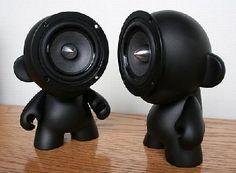 Vinyl speaker toy #designertoys