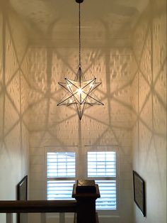 The Estrella (star in Italian) design is classic and comfortable in traditional, transitional, and modern decor. The smaller sizes work well in the hallway, the powder room, and the butler's pantry; and the larger sizes are stunning in the stairwell. Made of solid brass. Made in the USA Tower Light, Butler Pantry, Custom Lighting, Powder Room, Modern Decor, Solid Brass, Larger, Chandelier, Ceiling Lights
