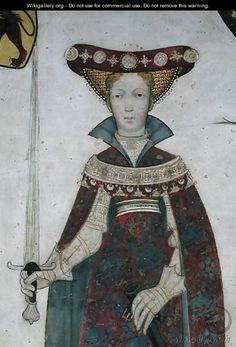 Giacomo Jaquerio - The Nine Worthies and the Nine Worthy Women, (1418 - 1430)