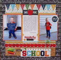 2 cool 4 School - Scrapbook.com