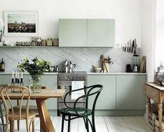 Cozinhas escandinavas ~ Decoração e Ideias - casa e jardim