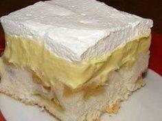 Recept na božský krémový koláč s jablky. Nejlepší, co jsme kdy jedli!