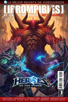 Revista [IRROMPIBLES] 19: HEROES OF THE STORM