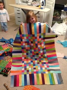 Southern Fabric: Rainbow quilt