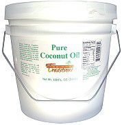 Our favorite coconut oil. This one has no coconut taste, so you can use it to cook anything. I also use it in skin care products and mixed with almond oil for a hair conditioner.