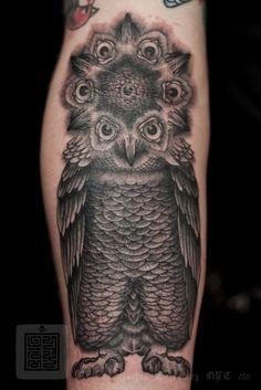 Thomas Hooper Appreciation Epic Sacred Geometry Tattoopaint Work