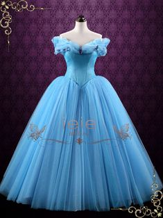 Cinderella Blue Ball Gown Evening Dress Prom Dress Formal image 1 - - Cinderella Blue Ball Gown Evening Dress Prom Dress Formal image 1 Source by dianejarquin Custom Wedding Dress, Blue Wedding Dresses, Perfect Wedding Dress, Wedding Gowns, Formal Dresses, Wedding Themes, Bridal Dresses, Blue Dresses, Blue Ball Gowns