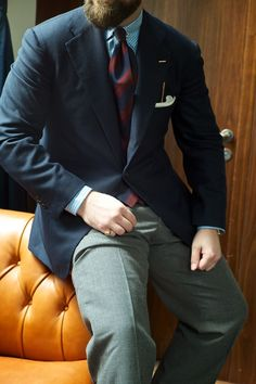Orazio Luciano Trunk Show October '13 The evolution of tailoring, from military dress through to the modern day, took what many think ...