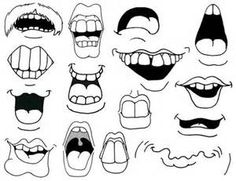 cartoon mouth drawing how to draw cartoon mouths. Mouth Drawing, Sketch Book, Cartoon Faces, Art Drawings, Doodle Art, Cartoon Mouths, Art, Face Drawing, Cartoon Drawing Images