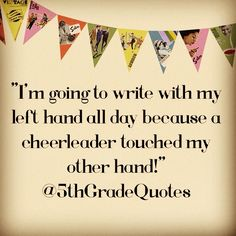 5th Grade Quotes #cheerleader