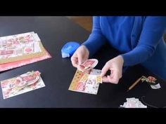Anna Griffin tutorial -- making a card from the Juliet Designer Paper Crafting Collection - YouTube -- Video