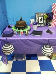 Laila's Maleficent party.