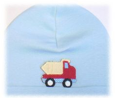 Boys Blue Dump Truck at by #jamierae at #babyboutique