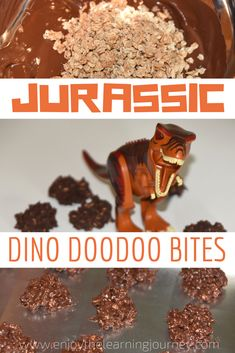 These dinosaur cookies are a chocolatey treat that little Jurassic World and dinosaur fans will love. They're great for kid's dino birthday parties too!