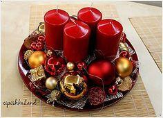 Svietidlá a sviečky - červená_vášeň - 6030031_
