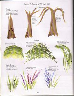 Trees & Foilage Worksheet