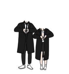 Cute Couple Drawings, Cute Couple Art, Cute Drawings, Cute Couples, Love Cartoon Couple, Chibi Couple, Anime Love Couple, Anime Character Drawing, Character Illustration