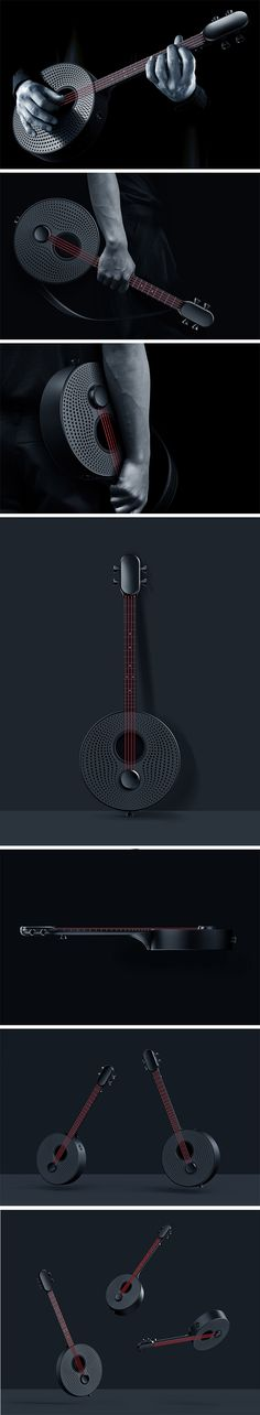 Yuan Man brings a unique experience to would-be players and ukulele enthusiasts. It utilizes integrated lights and visual dots that transform an ordinary instrument into an interactive and educational game. The design makes the process of learning the instrument as entertaining as the performance.