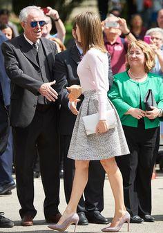 Reina Letizia asiste a la inauguración de la Feria del Libro de Madrid