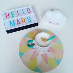 "12 Likes, 3 Comments - Sofie De rêves en étoiles  (@little_moon_76) on Instagram: ""#HelloMars ⛅"""