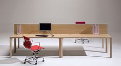 #Flipper #LucianoPagani #AngeloPerversi #Unifor #Unifurniture #design  Unifor: Office tables characterized by minimalist forms and special attention to structural details. Solid, stable and lightweight, these modular elements, available in various shapes and sizes, are designed to accommodate the needs of a dynamic, constantly changing environment. A limited number of components in a single construction system combine easily to respond to every project requirement.