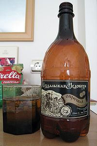 Russian cuisine - Medovukha, an alcoholic beverage similar to Mead