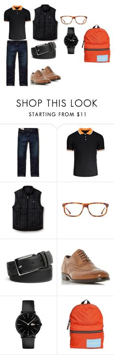 """Sin título #30"" by yasssaret-murillo on Polyvore featuring Hollister Co., Lacoste, GlassesUSA, Peter Millar, Bertie, Calvin Klein 205W39NYC, men's fashion y menswear"