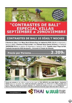 Contrastes de Bali, Especial VILLAS, Septiembre-29Noviembre Thai - http://zocotours.com/contrastes-de-bali-especial-villas-septiembre-29noviembre-thai-2/