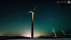 PLANNING YOUR TIMELAPSE Enjoy Aaron Priest's quick plan, and his result at Caribou Wind Park!