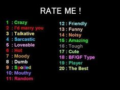 Rate me! Leave a comment and Rate Me! Snapchat Story Questions, Snapchat Question Game, Questions For Friends, Instagram Story Questions, Funny Questions, Snapchat Stories, Instagram Story Ideas, Snapchat Posts, Snapchat Names