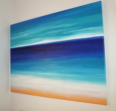 I'm not usually a big art person but I Love this painting.  Its simple and pretty and makes me feel happy and relaxed.