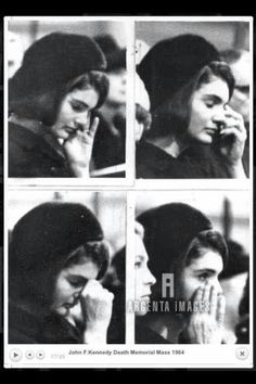 A grieving Jackie sits next to Joan at a memorial mass for the late president, January Les Kennedy, Carolyn Bessette Kennedy, Robert Kennedy, Jackie Kennedy Style, Caroline Kennedy, Jacqueline Kennedy Onassis, Southampton, Jaqueline Kennedy, Kennedy Assassination