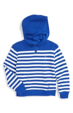 Ralph Lauren Stripe Hoodie (Toddler Boys & Little Boys)
