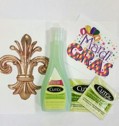 Planning your #MardiGras #manicure for this weekend? Grab a bottle of #Cutex Advanced Revival Nail Polish Remover. It will nourish your #nails so you can enjoy the festivities.