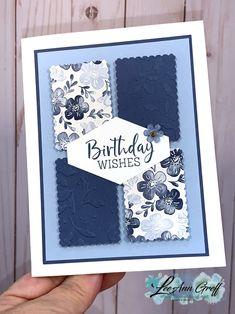 Simple Birthday Cards, Handmade Birthday Cards, Happy Birthday Cards, Greeting Cards Handmade, Happpy Birthday, Paper Cards, Cards Diy, Paper Boxes, Stamping Up Cards
