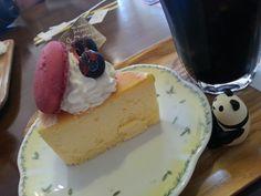 スフレチーズケーキ大好きです♡