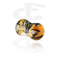 Double Flared Plug [Synthetic Stone] 6-16mm