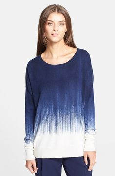 Free shipping and returns on Vince 'Painted' Crewneck Sweater at Nordstrom.com. A dramatic brushstroke motif defines a relaxed drop-shoulder sweater crafted from an exquisitely soft blend of wool and cashmere.