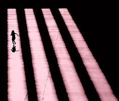 Pink Shadows: Monotone Pink shadows