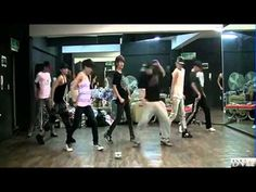 Infinite Be Mine Dance Practice. Syyyyynchronisation de malades !!