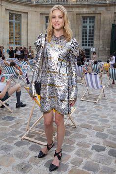 Natalia Vodianova en Louis Vuitton http://www.vogue.fr/mode/look-du-jour/articles/natalia-vodianova-en-louis-vuitton/26604