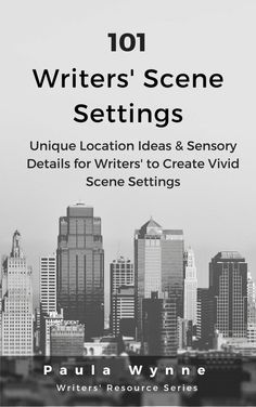 Scene Settings are critical pieces of the puzzle that will eventually make up your entire novel It might be new novel settings that you require or maybe vamping up current scene locations that are not fitting snugly into the rest of your plot.  Most of the time writers and authors use scene settings that we know and thus naturally come with a sense of comfort. Free Chapters: http://paulawynne.com/writers-resources/101-scene-settings