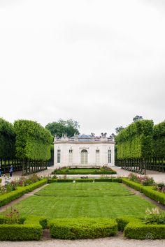 Le Petit Trianon, Versailles, France.