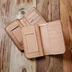 Pike Brothers leather wallet