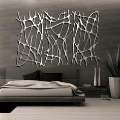 Bedroom Ideas for a fantastic innovative wall design