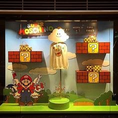 "MOSCHINO,Hong Kong,China, ""Super Moschino vs. Super Mario Bros. ....Play Now"", pinned by Ton van der Veer"
