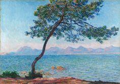 The Esterel Mountains, 1888. Claude Monet, Impressionism.